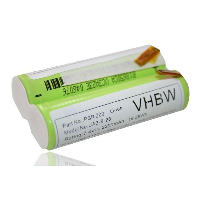 Batterie Li-Ion pour Güde Batterie-Jardinage-Set GPS 3,6 V Li 2200 mAh