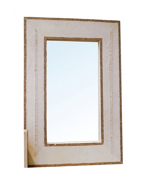 Decoshop Grand miroir mural vintage