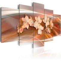 Artgeist - Tableau   Orchidée avec des nuances gris   200x100   Xxl   Fleurs   Orchidées
