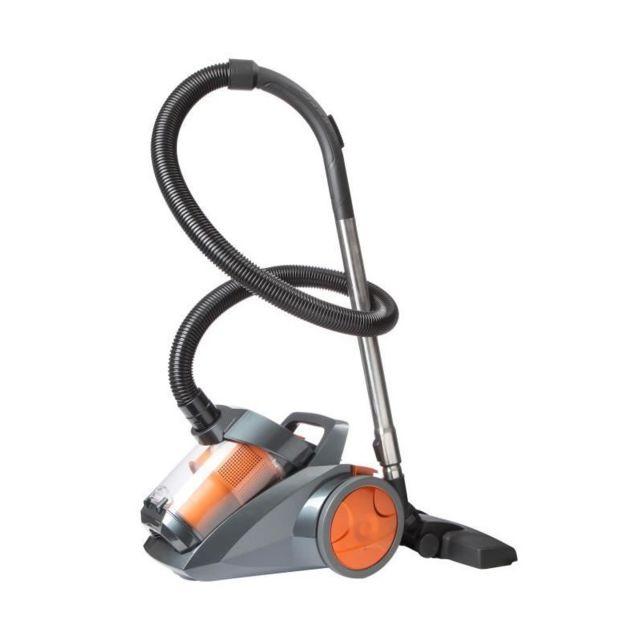 continental edison vcdc90so2 aspirateur tra neau sans sac 700w 80 db a orange achat. Black Bedroom Furniture Sets. Home Design Ideas