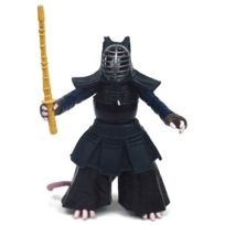 Tortues Ninja - Personnage Ninja Turtles - Figurine Tortues - 12 cm - Dojo Splinter Avec Accessoires - Tmnt - Jouet Garçon