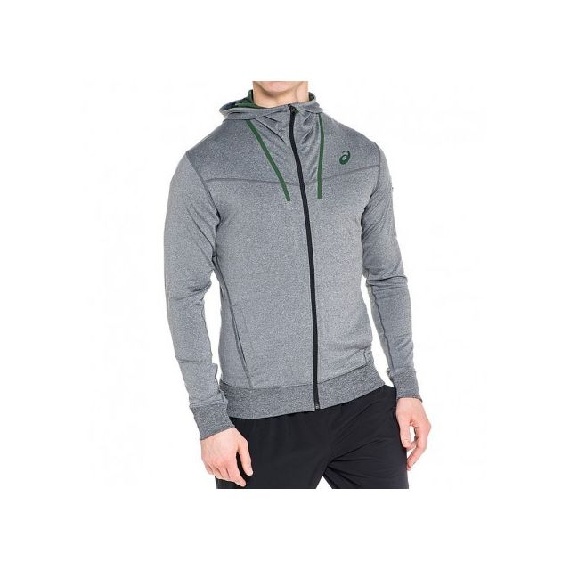outlet store differently where to buy Asics - Veste Full Zip Running Gris Homme - pas cher Achat ...
