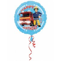 Amscan International - Ballon mylar anniversaire Sam le pompier 45 cm