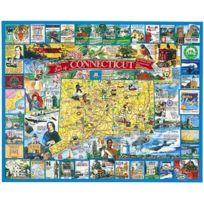White Mountain Puzzles - Puzzle 1000 pièces - Connecticut, Nouvelle-Angleterre, Usa