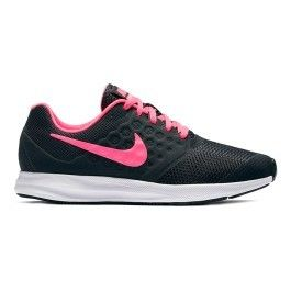 wholesale dealer 527fe 8cad6 Nike - Chaussures Nike DownShifter 7 Gs noir rose enfant