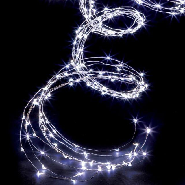 5b0ef84285566a Feeric Christmas - Feeric Christmas - Guirlande cascade lumineuse d extérieure  copper 200 Led blanc