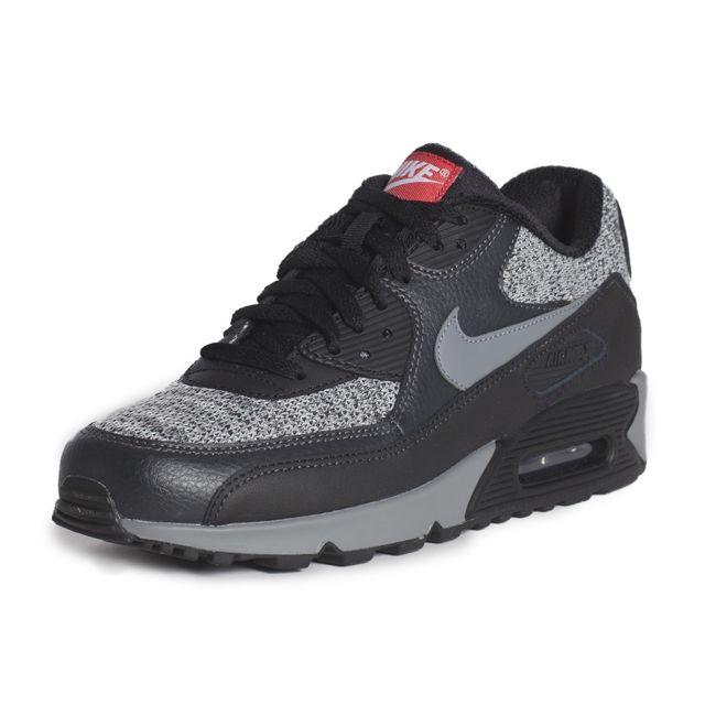 huge discount e5912 71fa2 Soldes Nike - Basket mode Air Max 90 Essential - 537384065 Noir - 45 1