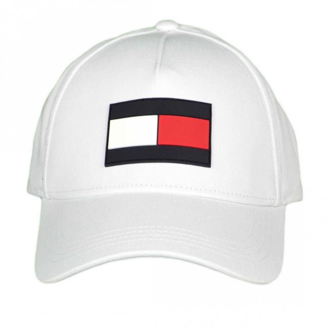 Tommy hilfiger - Casquette blanche Big Flag gomme pour homme - pas cher  Achat   Vente Casquettes, bonnets, chapeaux - RueDuCommerce 1098838f597