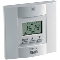 Delta Dore - Bloc Horloge Programmable Tyxia 258 - Coloris Blanc