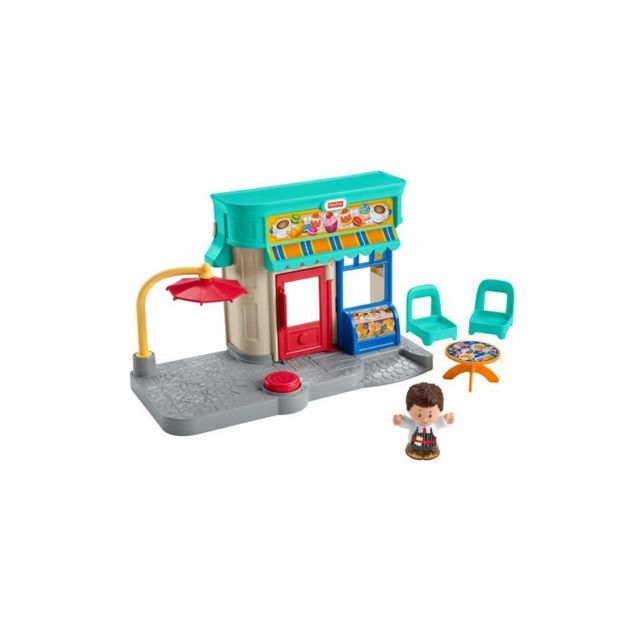 Fisher Price Fisher-price Little People La Boulangerie - Gnc60 - Figurine pour bébé - de 12 mois a 5 ans