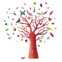 Little Big room - Stickers Muraux L'arbre à poèmes - Frida