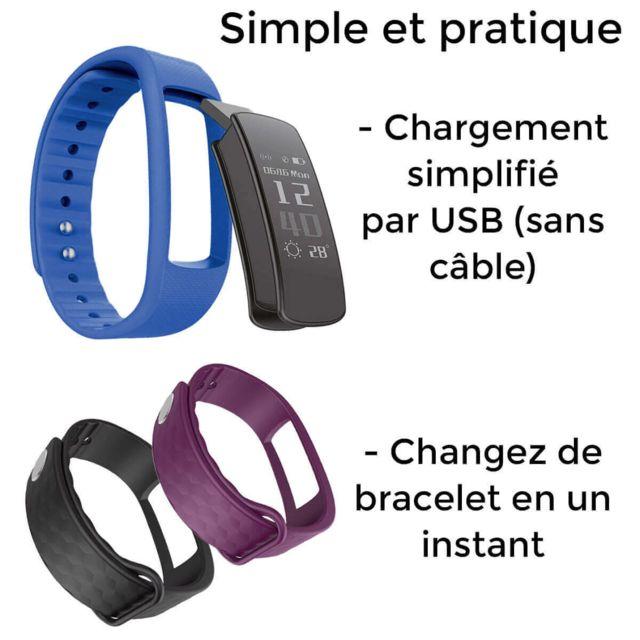 Ouivallee OuiVallée MyPulse – Bracelet connecté – Marque