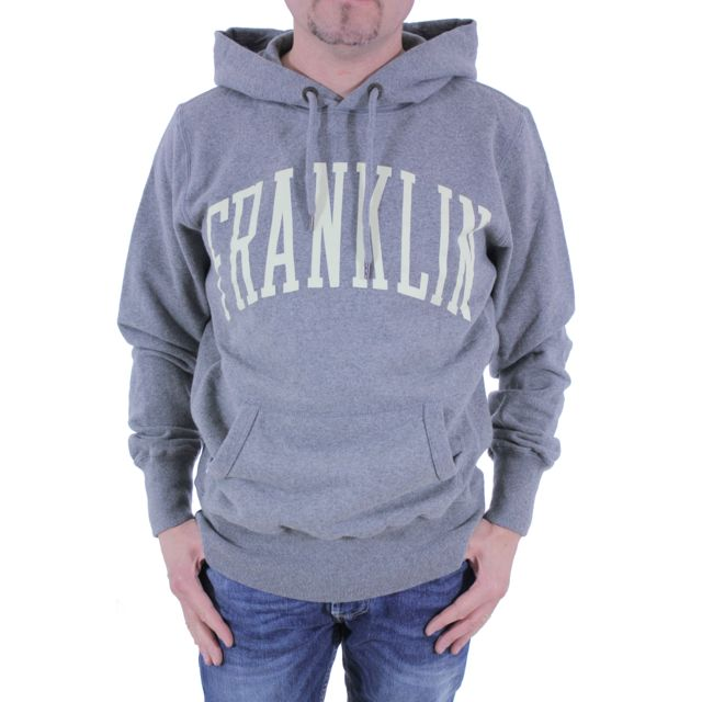 Franklin & Marshall - Sweat homme Franklin Marshall Flmc029 gris chiné