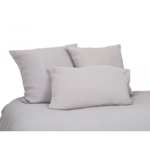 harmony housse de couette en lin 260x240 cm vito naturel ecru 260cm x 240cm pas cher achat. Black Bedroom Furniture Sets. Home Design Ideas