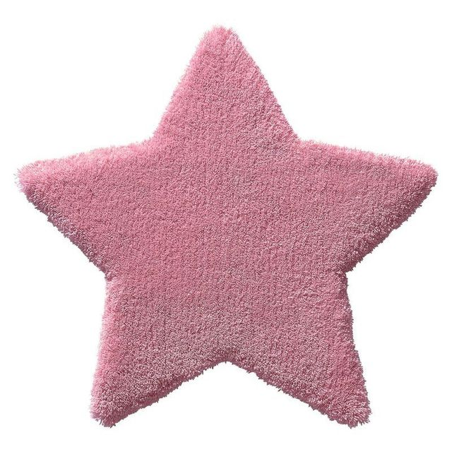 Belly button tapis etoile bb rose par pour chambre bebe couleur rose taille 80 80 cm for Tapis pour chambre bebe