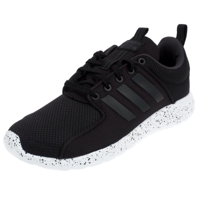 reputable site a70eb 61e1c Adidas Neo - Chaussures running Cf lite racer cblack Noir 76465 - pas cher  Achat   Vente Chaussures running - RueDuCommerce