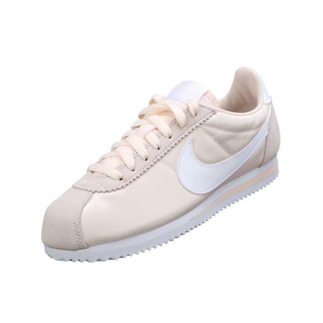 Nike Wmns Classic cher Cortez Nylon 749864 803 Ecru pas cher Classic Achat 9dff61