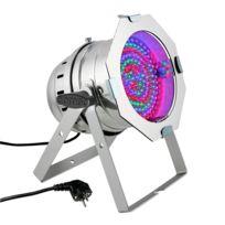 Cameo - Clp64RGB10PS Projecteur Par 64 à Led - Dmx aluminium argent