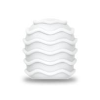 Le Wand - Accessoire Gaine Spirale Blanc