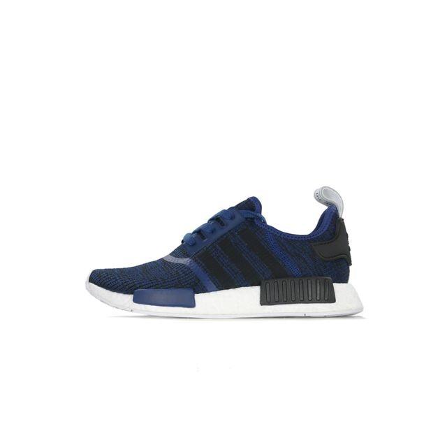 Adidas originals - Basket Nmd R1 - Ref. By2775 Bleu - pas cher Achat / Vente Baskets homme - RueDuCommerce