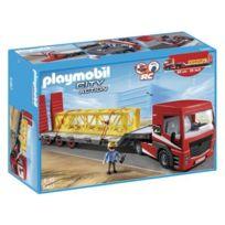 Playmobil - 5467 City Action - Tracteur Routier Avec Grande Remorque