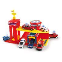 Norev - Garage Minijet Emergency - Avec héliport + véhicule - G46000