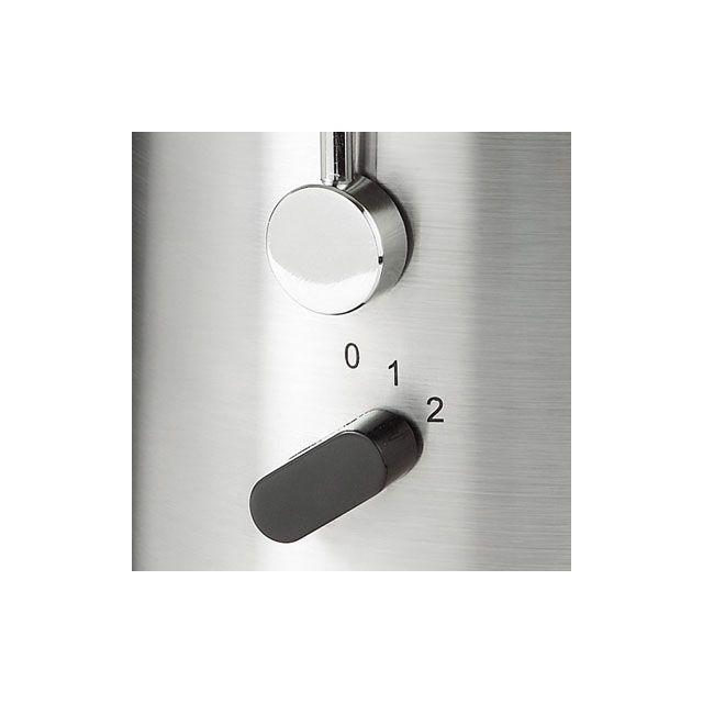 DOMOCLIP Centrifugeuse DOM151 Permet d'extraire le jus des fruits et légumes - Moteur surpuissant à 2 vitesses - Interrupteur marche/arrêt - Démontable pour entretien facile - Contenance du réservoir : 1,8 L - Livr&