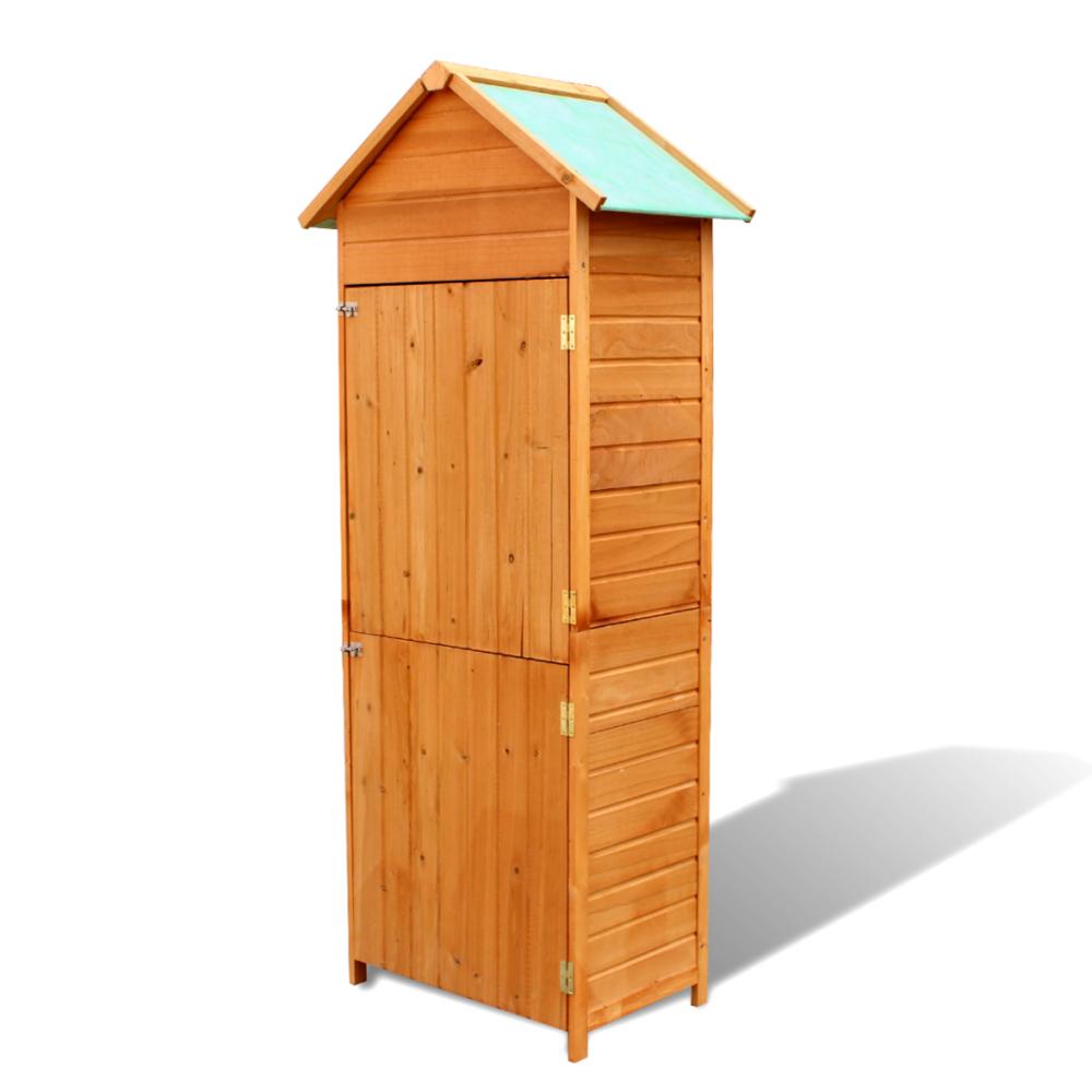 Vidaxl - Armoire de jardin étanche en bois - pas cher Achat / Vente ...
