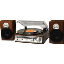 ROADSTAR - Chaine Tourne disque Vintage Ebenisterie bois HIF5988