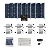 Myshop-solaire - Kit solaire 2400w autoconsommation enphase - plug & play
