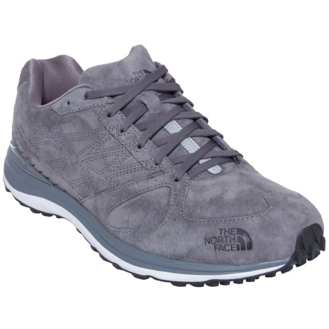 north Traverse The face Homme Chaussures TrLeather gris 0wk8PONnX