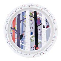 Petit Jour - Assiette plate 21.5 cm : Les oiseaux