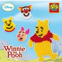 Ses - Boîte de perles Technique à repasser : Winnie l'ourson