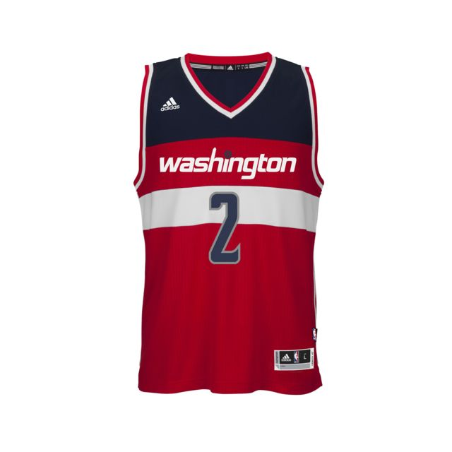 online store 377d9 4c7c7 Adidas performance - Maillot Wizards John Wall N°2 Rouge