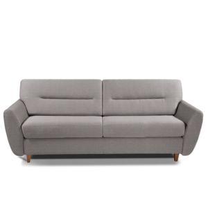 inside 75 canap convertible copenhague 140cm matelas 15 cm ouverture rapido sommier lattes. Black Bedroom Furniture Sets. Home Design Ideas