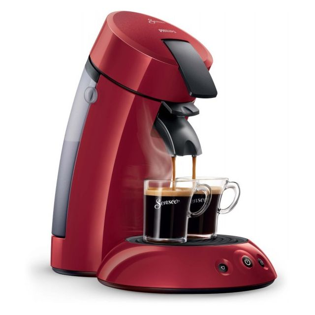 PHILIPS Senseo Originale 1-2 Tasses HD7817-91 Rouge