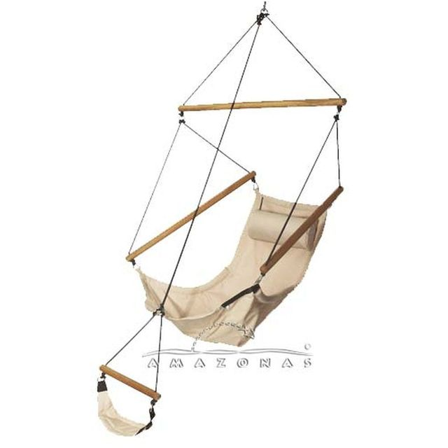 Amazonas Fauteuil suspendu Swinger sable