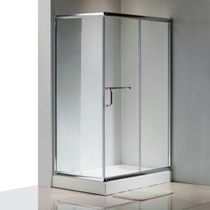 CONCEPT USINE - Lario : paroi de douche : l 120 X L 80 X H 195 cm, receveur inclus, structure en aluminium haute qualité