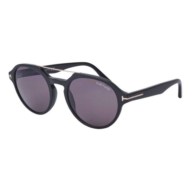 200d3d9e34 Tom Ford - Lunettes de soleil Stan Tf-696 01A Homme Noir - pas cher Achat /  Vente Lunettes Tendance - RueDuCommerce