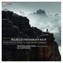 Mirare Productions - Wilhem Friedemann Bach - Concertos pour clavecin et cordes Boitier cristal