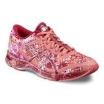 Asics - Chaussures Gel-noosa Tri 11 Gs orange rose femme