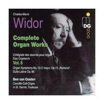 Mdg - Widor: Complete Organ Works
