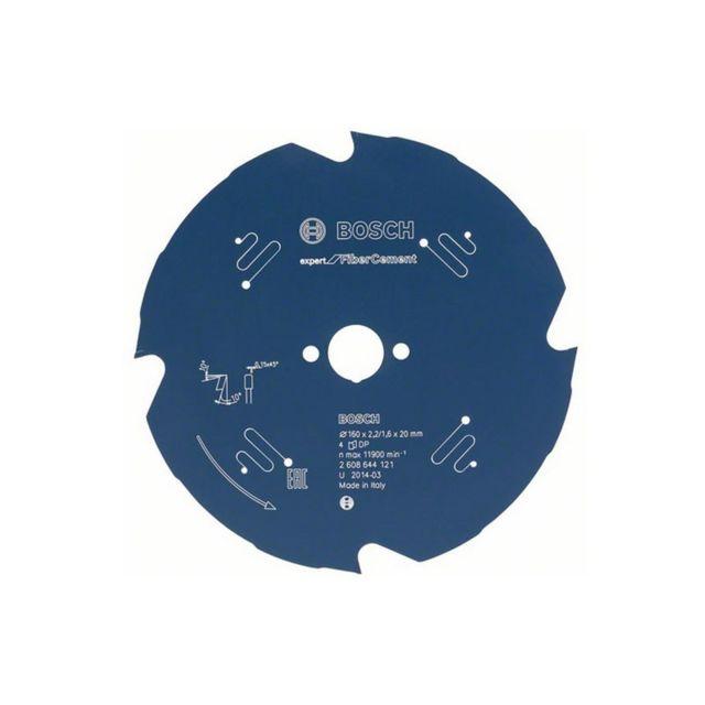 52 165 x 30 x 2,6 MM Bosch Lame de scie circulaire Expert for aluminium