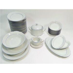 g n rique service de table vaisselle en porcelaine de. Black Bedroom Furniture Sets. Home Design Ideas