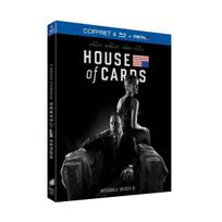 Sony - House of cards - Saison 2 Blu-Ray + Digital Ultraviolet