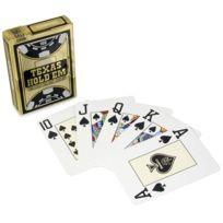 Cartamundi - Jeu de Poker en plastique Copag gold