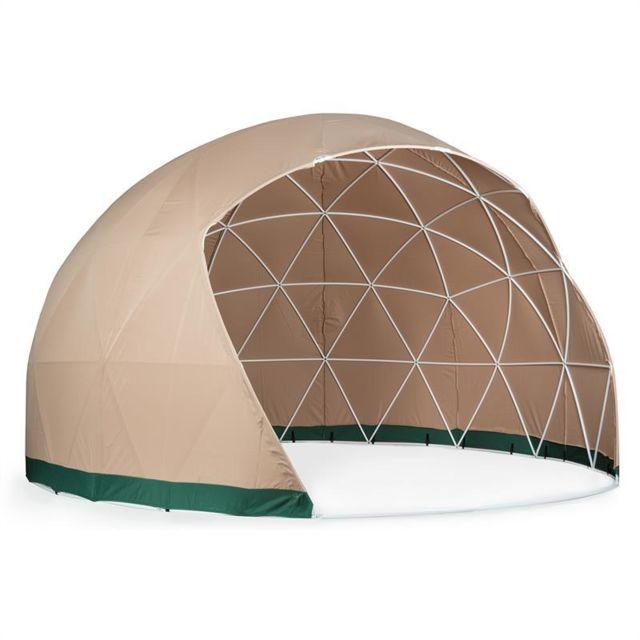 BLUMFELDT Sun Cave protection solaire 3,6x2,2m structure PVC Polyester beige