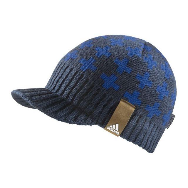 Adidas originals , Bonnet Casquette Adidas Visor Bleu , pas