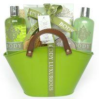 Gloss - Panier de Bain Body Luxurious - Thé Vert - 13 pièces