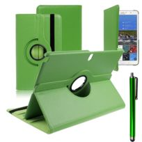 Vcomp - Housse avec support Et Rotation 360° en cuir Pu pour Samsung Galaxy Tab Pro 12.2 Sm-t9000/ Tab Pro 12.2 3G T900/ Tab Pro 12.2 Lte 4G Sm-t905 + stylet - Vert